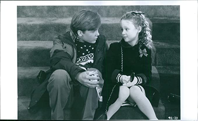 vintage photo of ethan embry and thora birch in a scene from a 1991 american romantic - All I Want For Christmas 1991