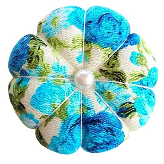 Muñequera con diseño de flores azules para jardín, color ...