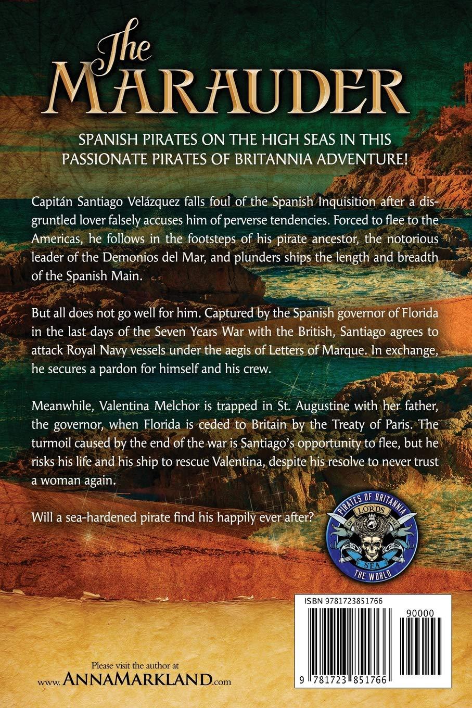 The Marauder (Pirates of Britannia): Amazon.co.uk: Anna ...