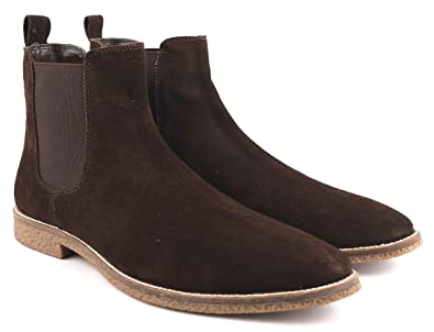 4f794857fe0a Freacksters Men's Suede Leather Chelsea Boots: Buy Online at Low ...