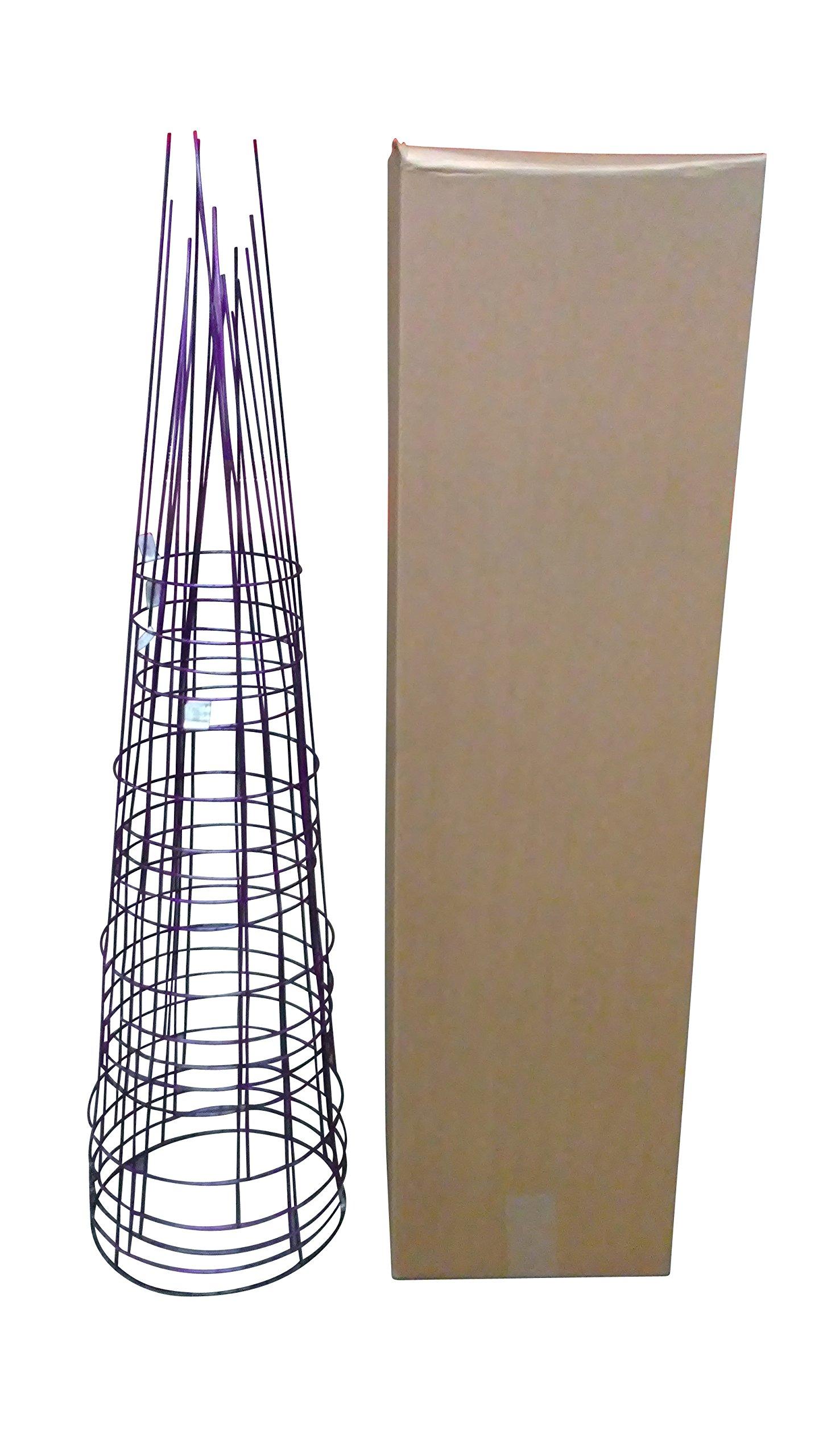 Glamos 286373 Garden Plant Support, Large/16'' x 54'', Amethyst Purple
