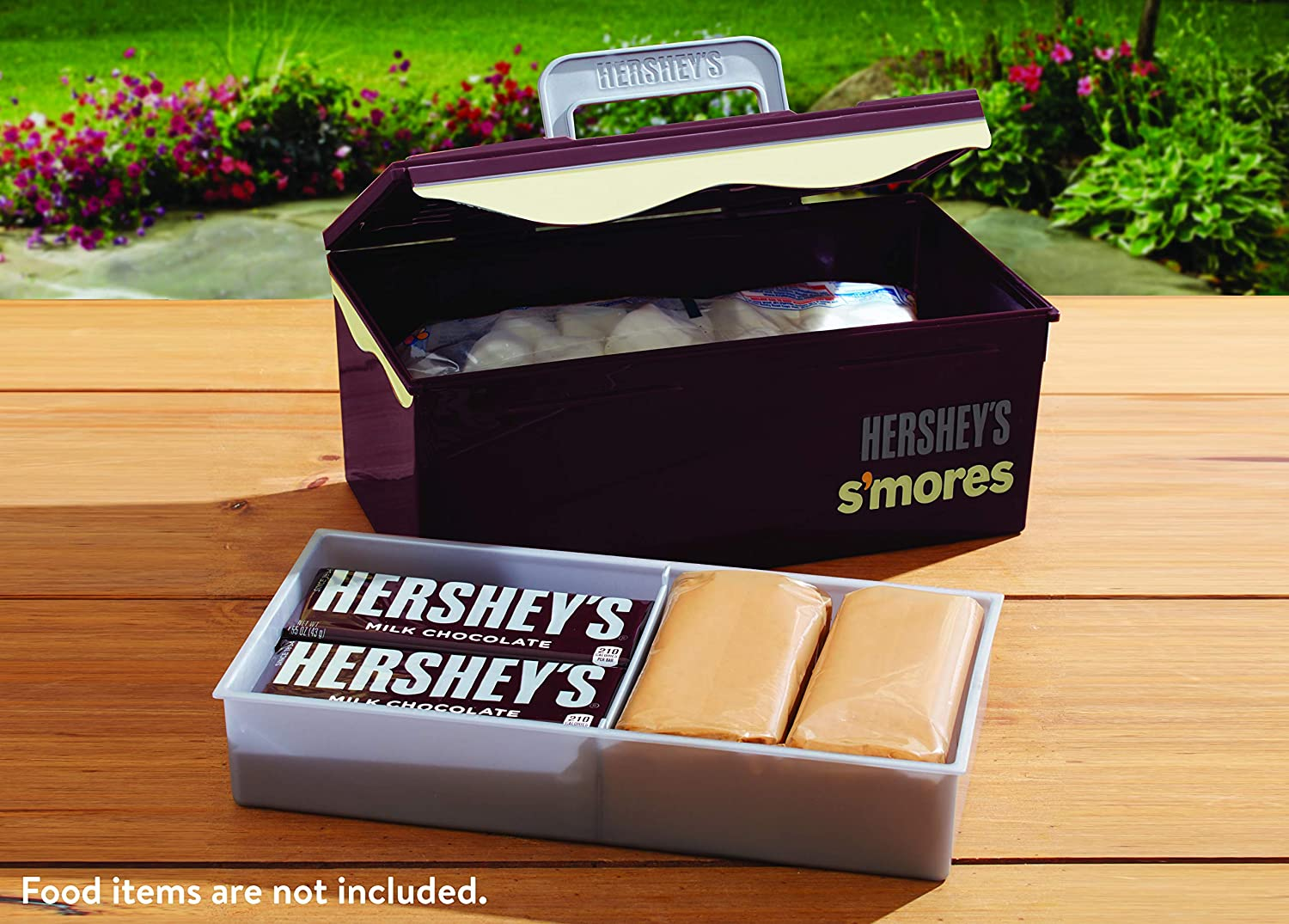 HERSHEY/'S Smores, Tacklebox Carry Case Storage Caddy Camping