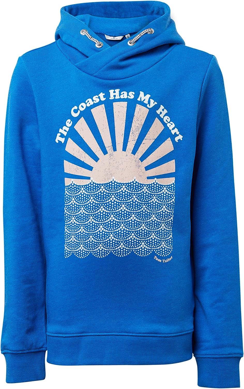 TOM TAILOR M/ädchen Strick /& Sweatshirts Sweatshirt mit Brust-Print