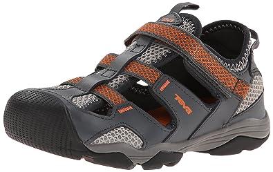 f5a52dd78c34e0 Teva Jansen Leather Kids Sport Shoe (Toddler Little Kid Big Kid)