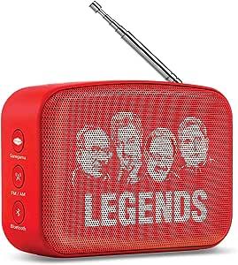 Saregama Carvaan Mini TELEGU Bluetooth Speaker (Sunset Red)