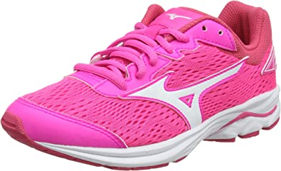 Mizuno Wave Rider 22 Jr, Zapatillas de Running para Niñas: Amazon.es: Zapatos y complementos