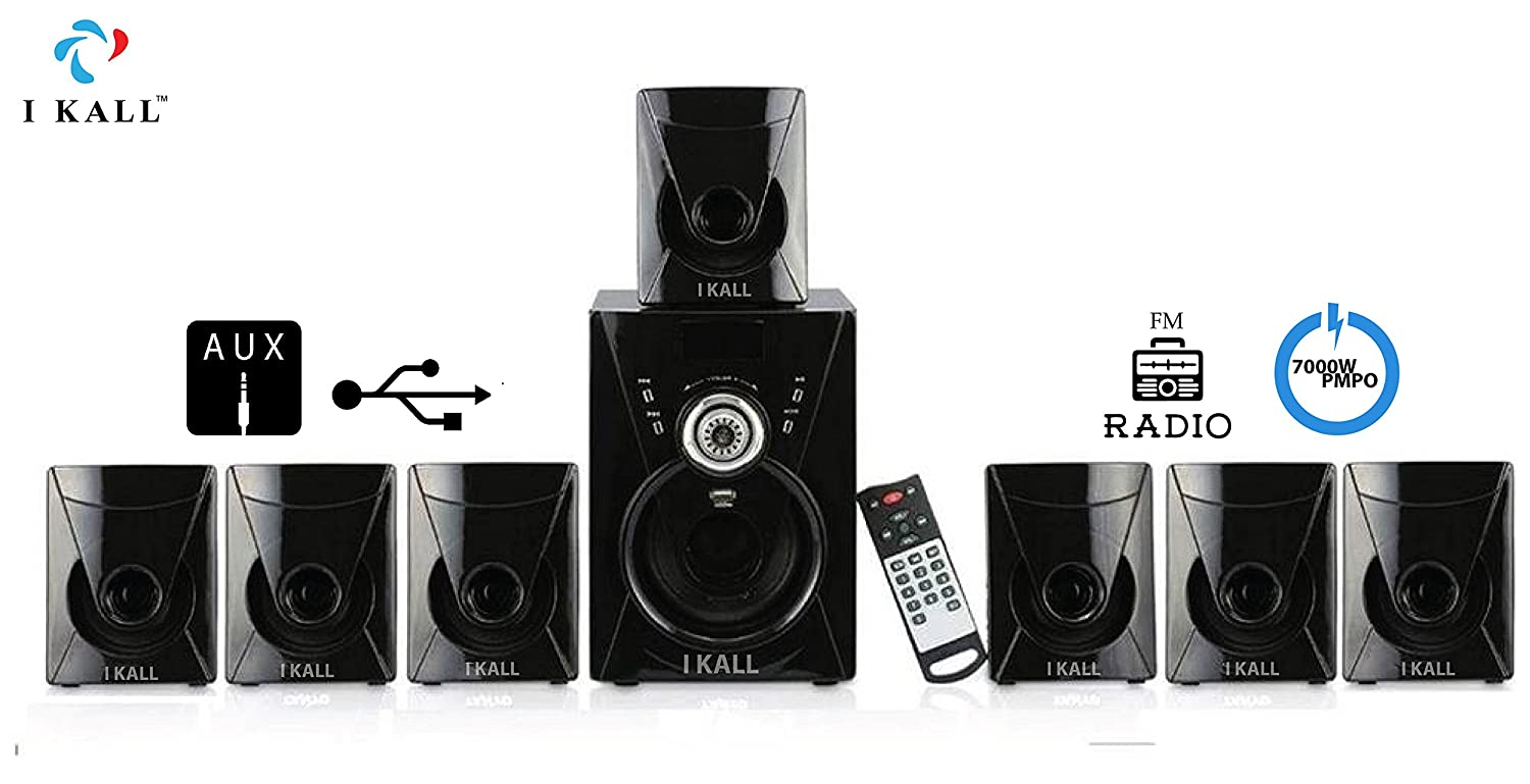 Ikall I Kall 71 Channel Ta 777 Portable Home Audio Speaker System Subwoofer Wiring Configurations Black Price Buy