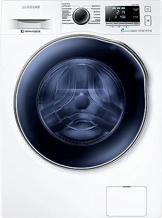 Samsung WD80J6400AWEG Waschtrockner 1088 KWh 8 Kg Waschen Weiss SchaumAktiv Technologie Amazonde Elektro Grossgerate