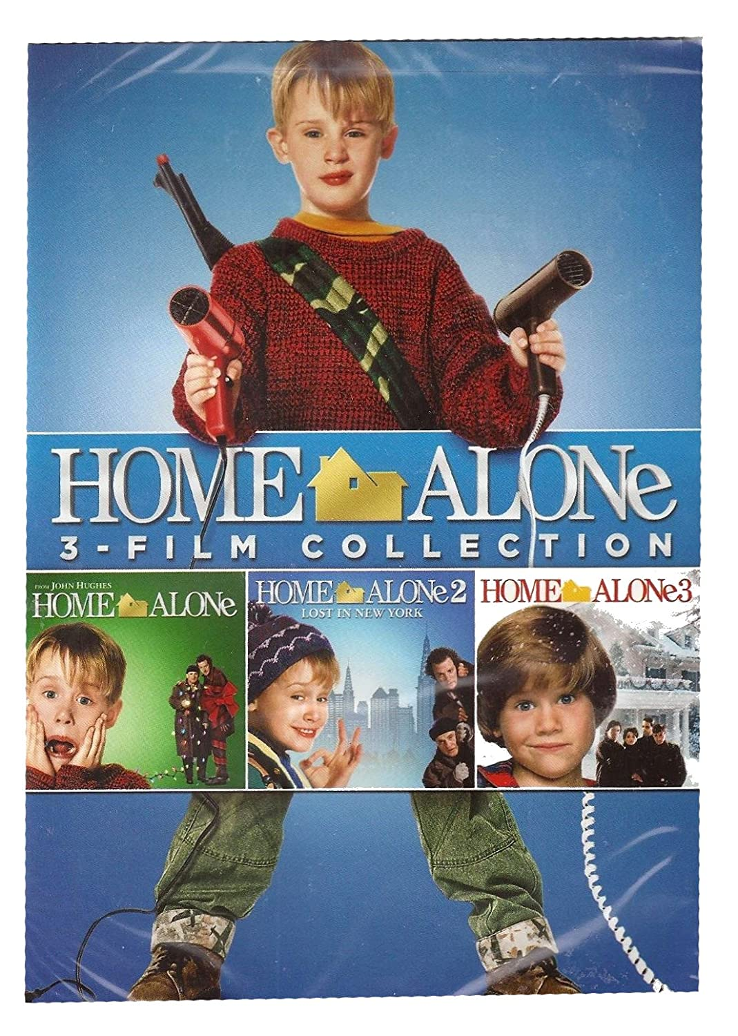Home Alone 3-Film Collection (Home Alone/Home Alone 2: Lost in New York/Home Alone 3) DVD