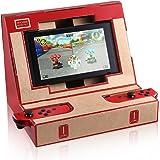 Nintendo Switch ダンボール アーケードブラケット DIY KINGTOP 任天堂 スイーチ 手作り カードボード ニンテンドー用 アーケード型 ダンボール玩具