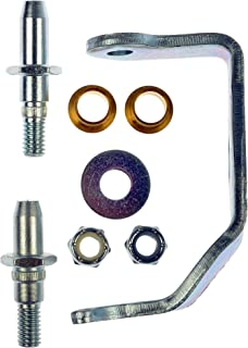 Carded Front,Rear Dorman 38437 Door Hinge Pin /& Bushing Kit-and Bushing Kit