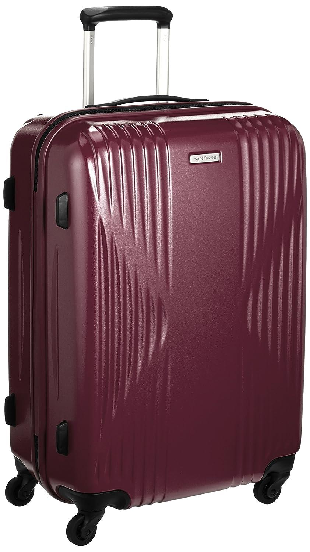 [ワールドトラベラー] スーツケース 日本製 クリアウォーター サイレントキャスター 60L 60cm 4.0kg 04063 B01N38B0XO ワイン