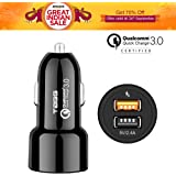 Tagg® Power Bolt Qualcomm Certified Quick Charge 3.0 Smart Dual Usb Car Charger