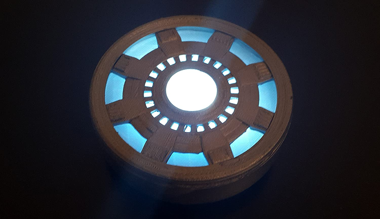 Iron Man Arc Reactor Replica   MK2 Wearable For Costume And Fancy Dress  ...: Amazon.co.uk: Toys U0026 Games