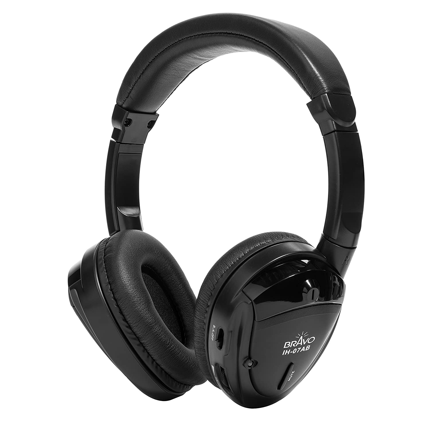 Bravo View IH-05A SINGLE SOURCE Automotive IR Wireless Headphones Bravo View Technology