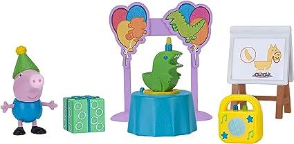 Peppa Pig Little Rooms Juego De Cumpleaños De George Toys Games