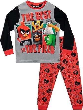 Angry Birds Pijamas de Manga Larga para niños