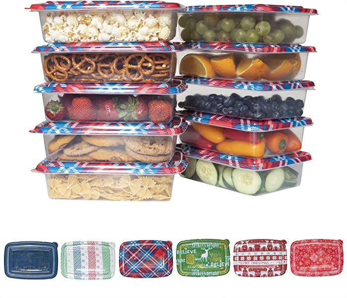 Top 9 Gift Food Plastic Containers With Lids