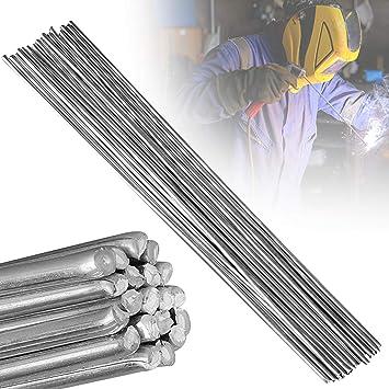 30//50PCS Aluminum Welding Rods Universal Welding Cored Wire Brazing Rod Tubes US