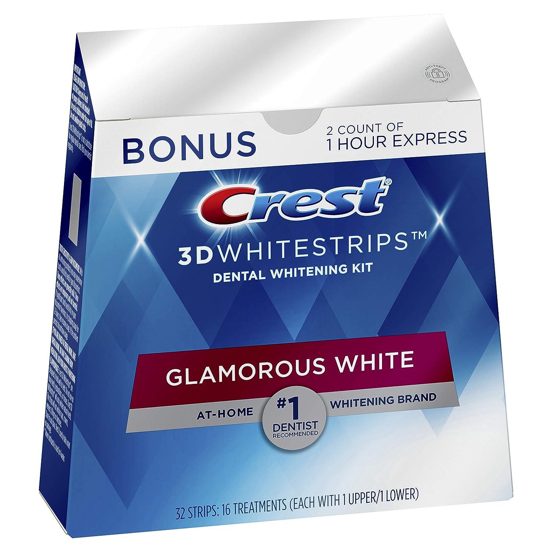 Amazon Com Crest 3d Whitestrips Glamorous White Teeth Whitening