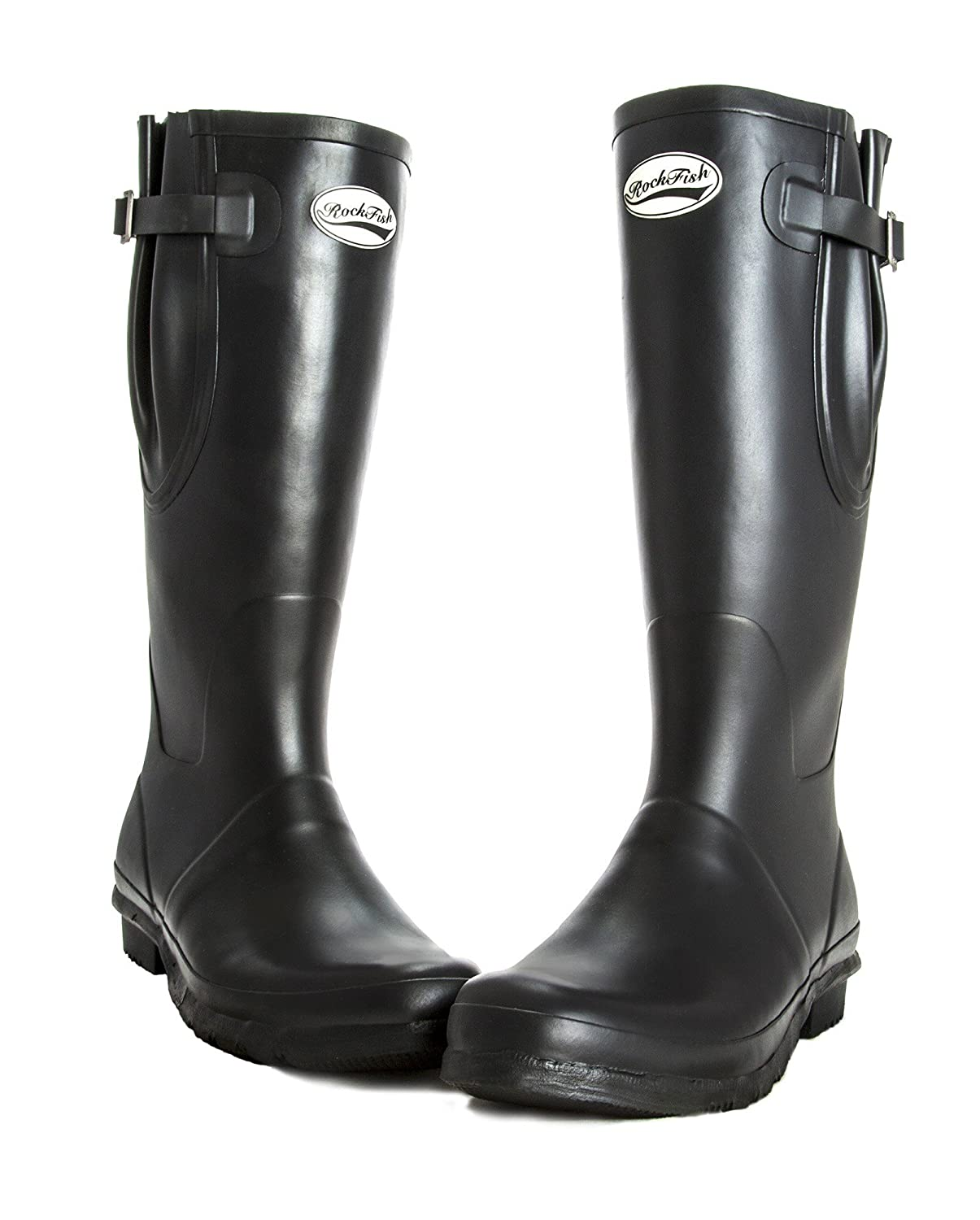 Neoprene Lined , Women's Wellington boots, adjustable calf fit, natural rubber, size UK7, free delivery