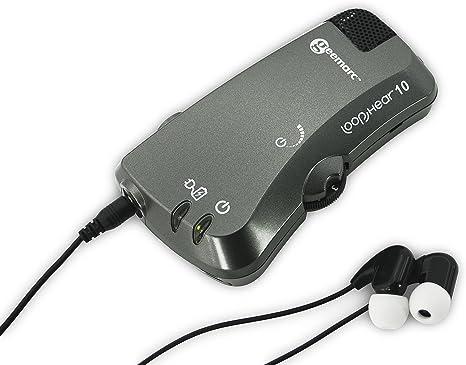Procesador De Sonido Lh10 con Un Micrófono Direccional Y La Función De Bucle De Inducción (hasta 30 Db) - Y Balance De Sonido Rege: Amazon.es: Deportes y aire libre