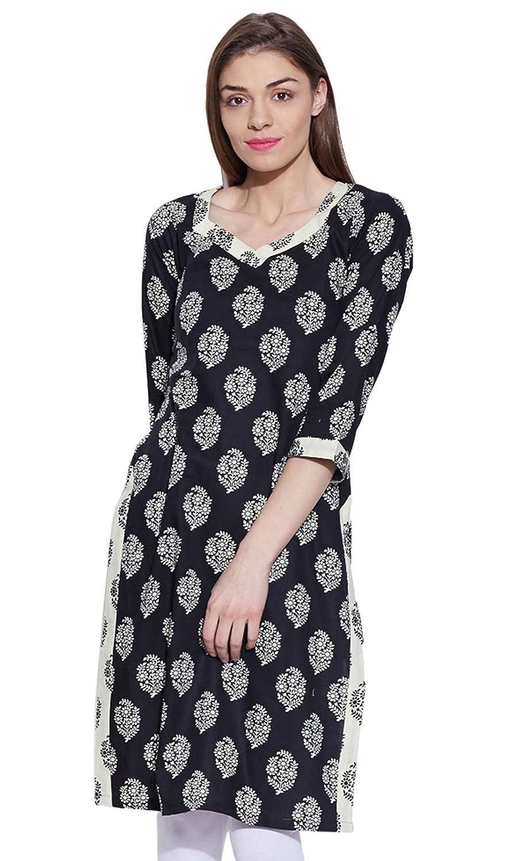 39c0736255e Women Cotton Indian Kurti Tunic Top Long Ethnic Blouse Kurta Gift for Her:  Amazon.co.uk: Clothing
