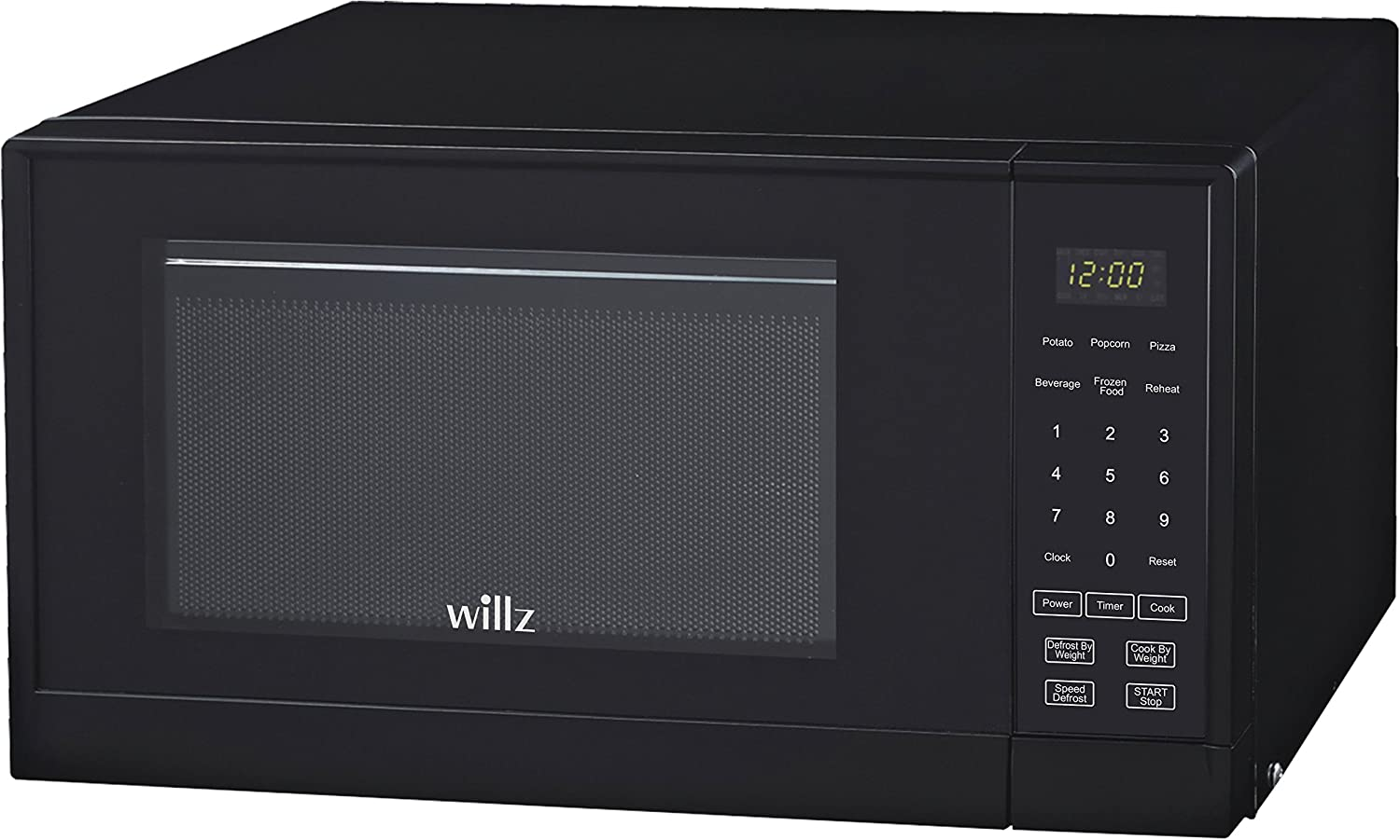 Willz WLCMSR09BK-09 Black 0.9 cu ft Microwave