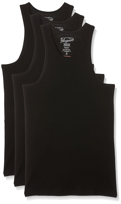 Original Penguin Camiseta de Tirantes para Hombre (Pack de 3) 4zgtA39
