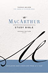 NASB, MacArthur Study Bible, 2nd Edition, eBook: Unleashing God's Truth One Verse at a Time Kindle Edition