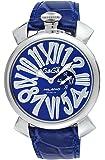 [ガガミラノ]GAGA MILANO 腕時計 ブルー文字盤 5084.3 メンズ 【並行輸入品】