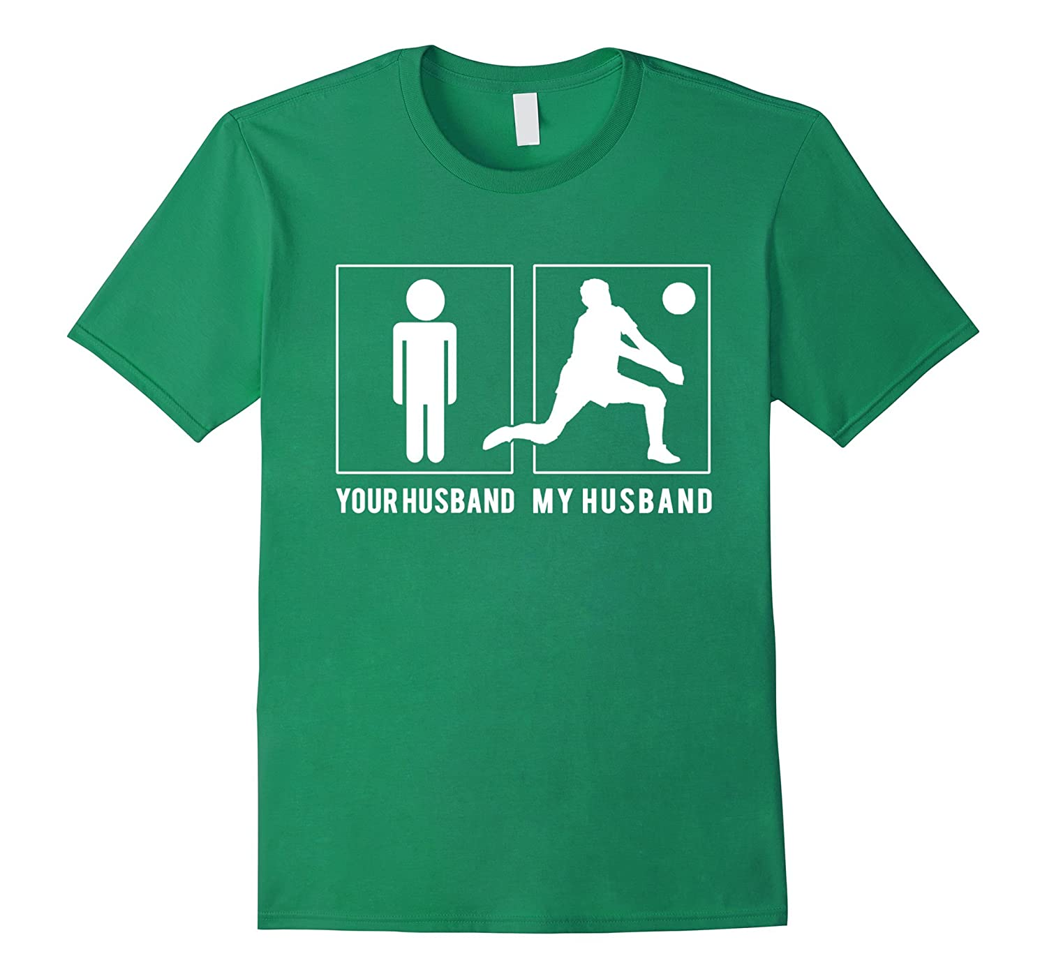VOLLEYBALL PLAYER - YOUR HUSBAND - MY HUSBAND T SHIRTS-Vaci