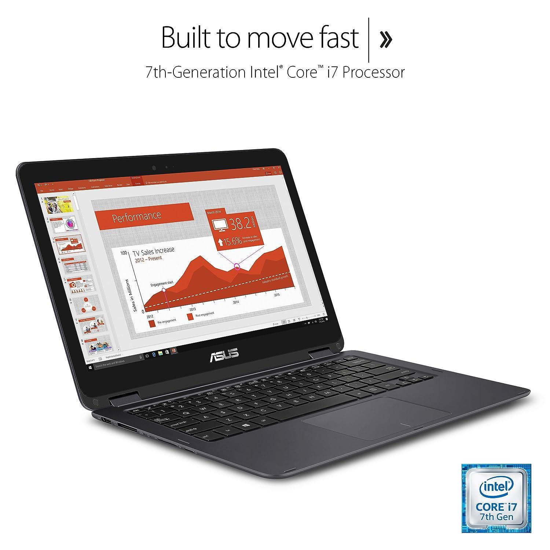 Asus Zenbook Flip Ux360ua 133 Inch Touchscreen Sdxc 512gb V Gen Turbo Class 10 Uhs1 Convertible Laptop Core I7 16gb Ssd Windows Fingerprint Reader Computers