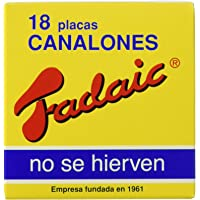 Fadaic - Pasta Canelones Laminada Carton - 18