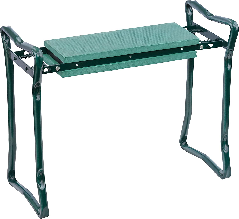 Schramm® Garten Arbeitshocker Gartenhocker Sitzbank Gartenbank Knieschutz