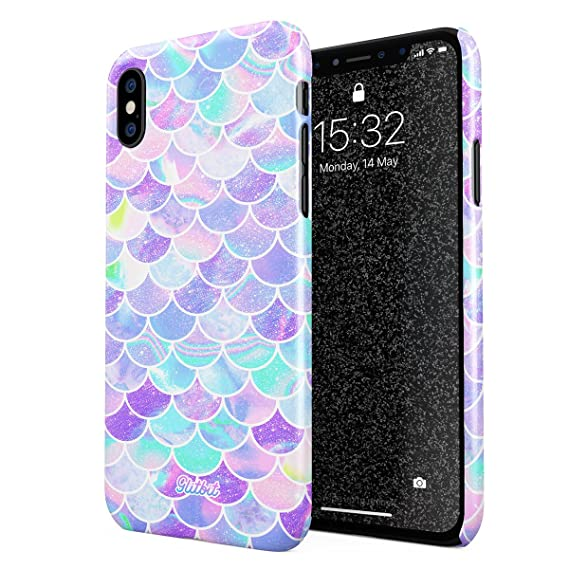 reputable site 00361 1529b Amazon.com: Glitbit Compatible with iPhone X, iPhone Xs Case Mermaid ...