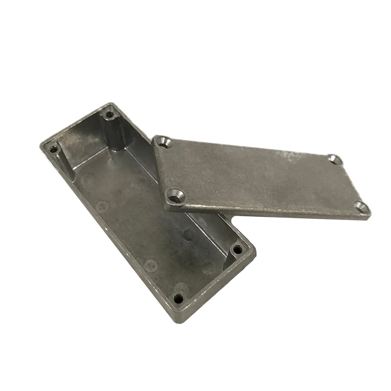 3-39//64 Length x 1-1//2 Width x 1-13//64 Height Natural Finish BUD Industries CU-123 Aluminum Econobox
