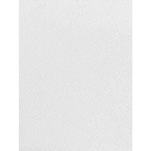 50 folios A4 de color blanco con textura, 120 g/m², aptos ...