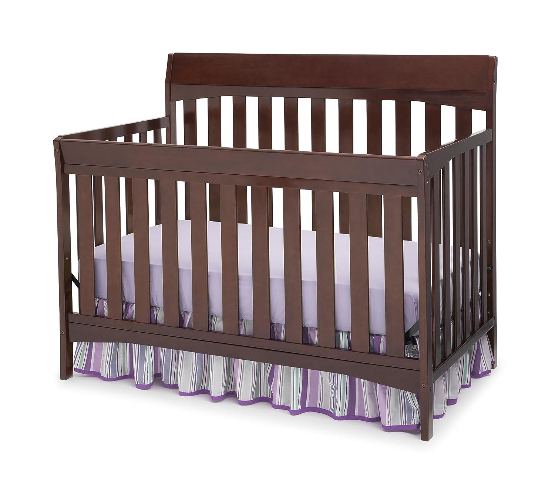 Amazoncom Delta Children Remi 4in1 Crib Chocolate Baby