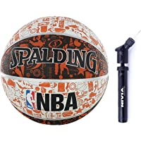 Spalding Basketball Size- 7 with Ball Pump