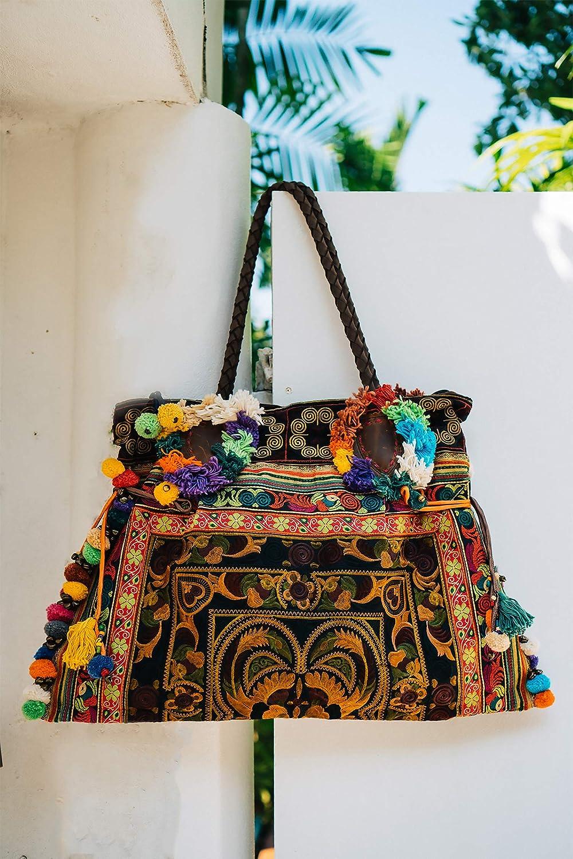 8f77b7f00d1a Changnoi Mocha Woman's Beach Tote Bag, Boho Tote Large Size, One of ...