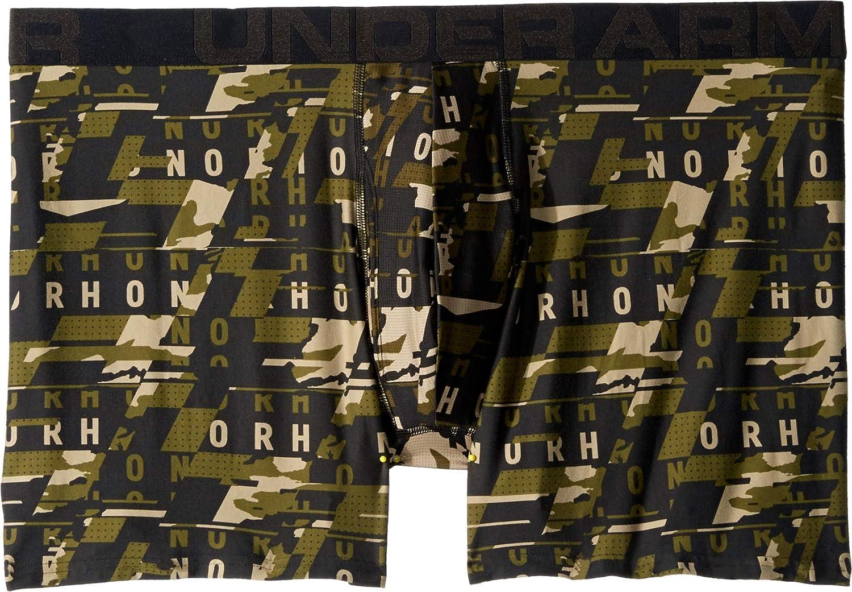 1 Pack Under Armour Mens Tech 6inch Boxer Brief Boxerjock