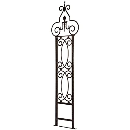 Superbe Amazon.com : H Potter Garden Trellis For Climbing Plants Wrought Iron Metal  For Vine Rose Flower 124 : Trellises : Garden U0026 Outdoor