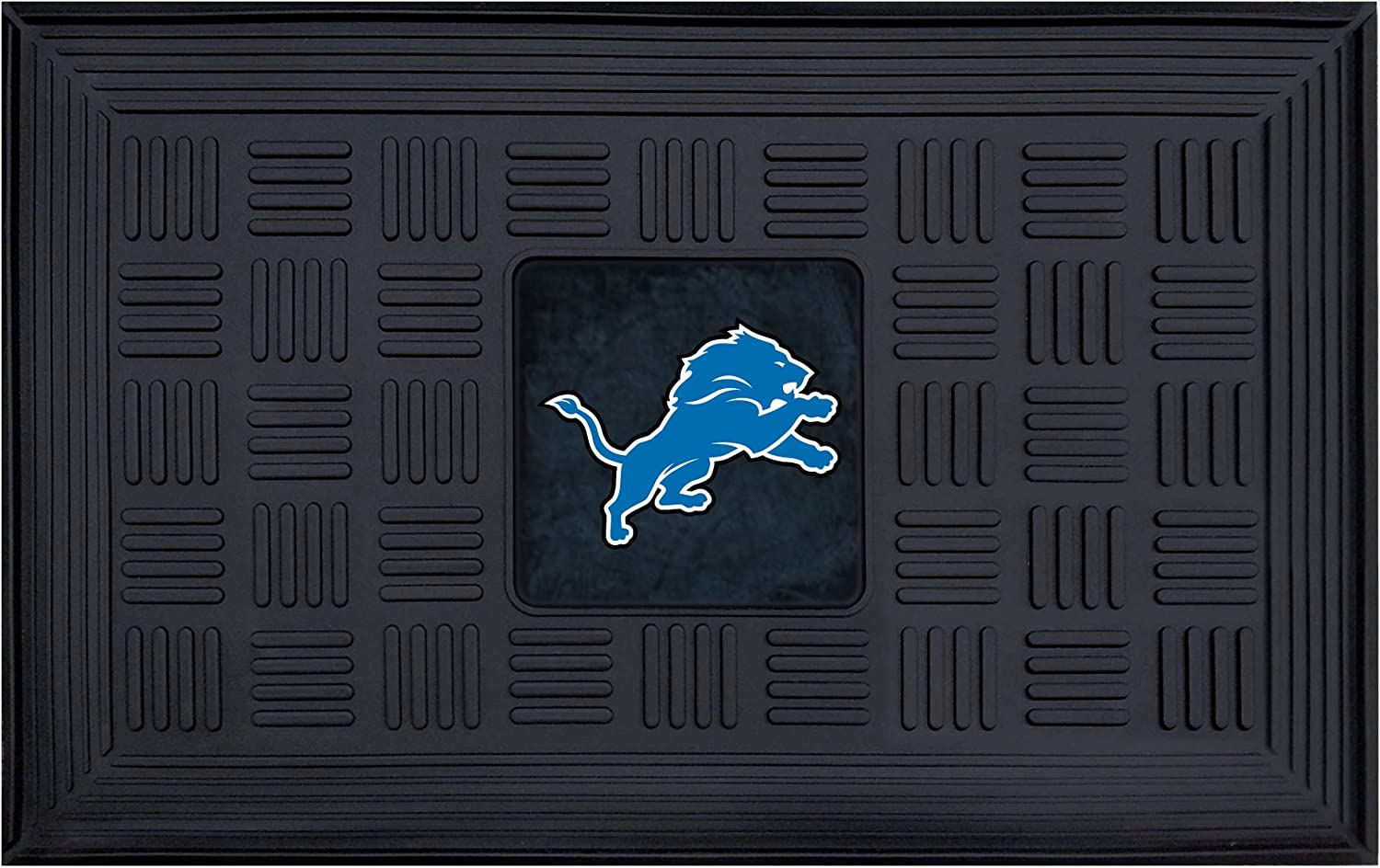 Fanmats Detroit Lions Medallion Door Mat