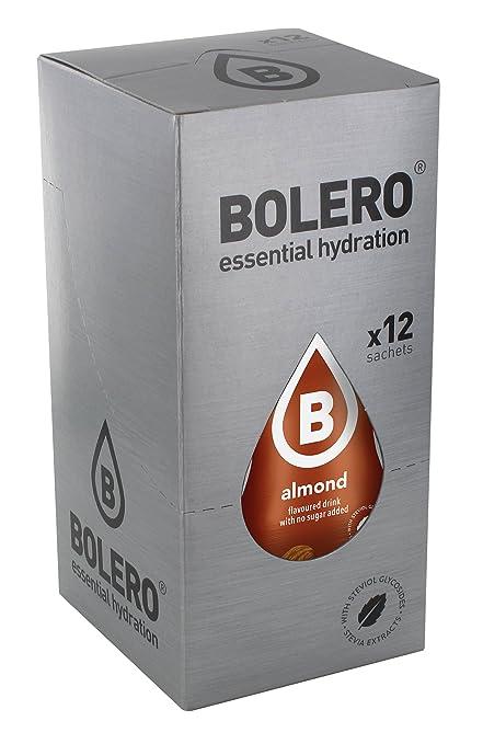 Bolero Preparado para Bebida, Sabor Almond - 12 sobres
