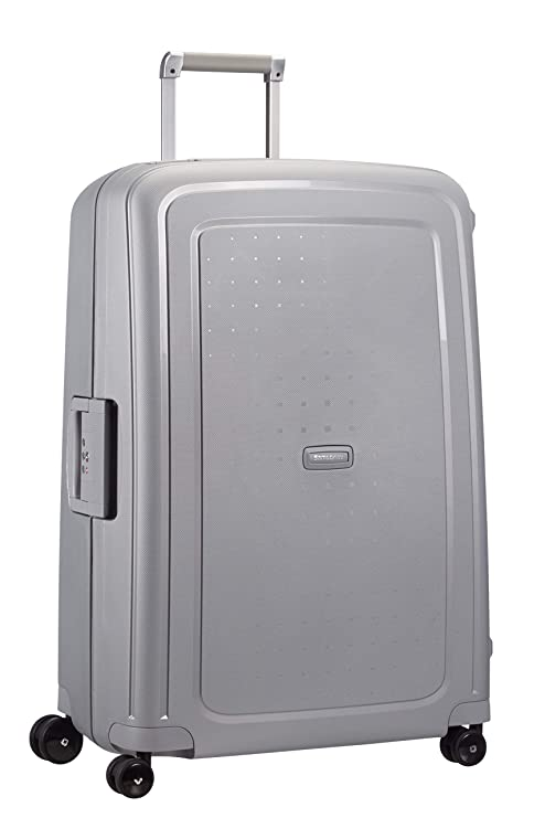 7a408a003f69ec Samsonite S'Cure Bagaglio a Mano Spinner 75 cm, 102 liters, Argento ...