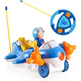 Cartoon R/C Airplane Radio Control Toy for Toddlers by Liberty Imports (ENGLISH Packaging)