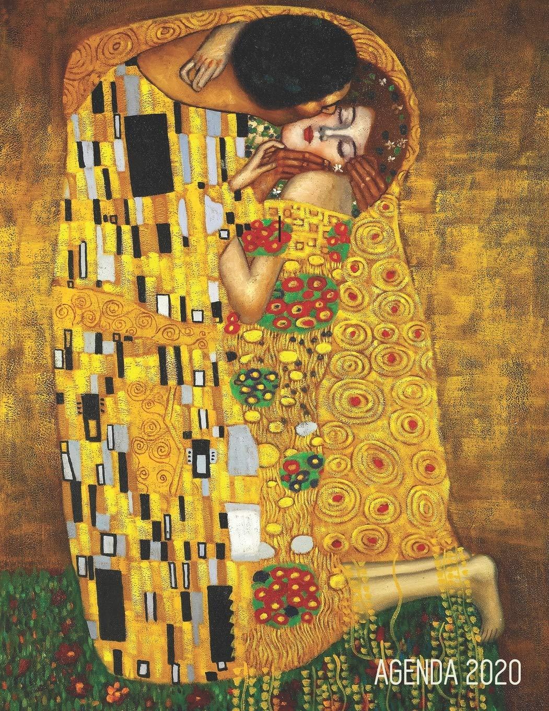 Gustav Klimt Agenda Annuale 2020: Il Bacio | Jugendstil Art Nouveau |  Diario Settimanale per Organizzare Giorni Occupati | Arte d'Oro |  Pianificatore Giornaliera 2020 (Italian Edition): Bode, Palode:  9781678333836: Amazon.com: Books