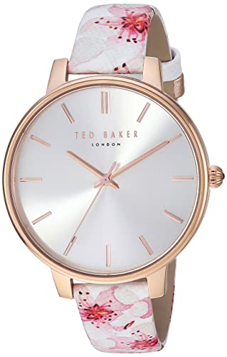 190715e60 Ted Baker Women's 'Kate' Quartz Stainless Steel and Leather Casual  WatchMulti Color (Model: TE50272002): Amazon.co.uk: Watches