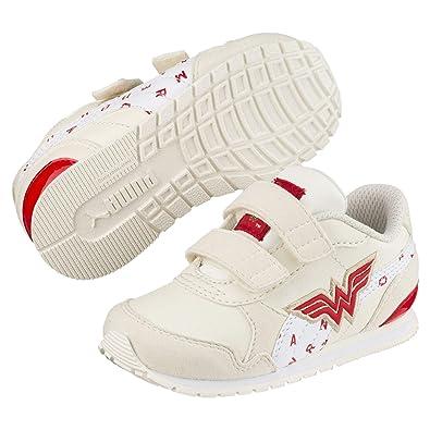 8cbabbcd2678 Puma Justice League ST Runner v2 Kinder Sneaker Whisper White-White-Risk  Red 1